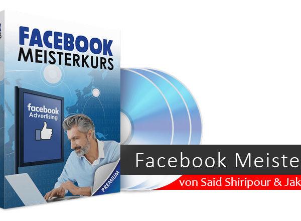 Facebook Meisterkurs von Said Shiripour & Jakob Hager